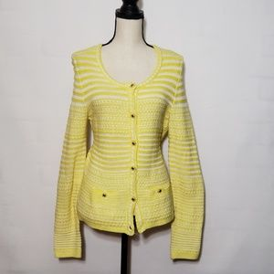 Trina Turk striped cardigan sweater